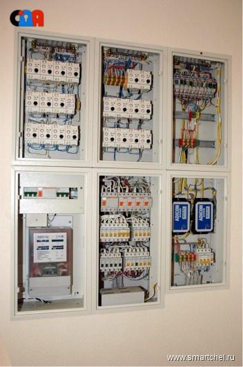 Современный электромонтаж от Систем Домашней Автоматики