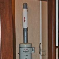 Силовой блок расположен в служебном помещении в подвале