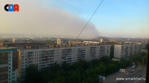 Родной Челябинск как-то вечером…