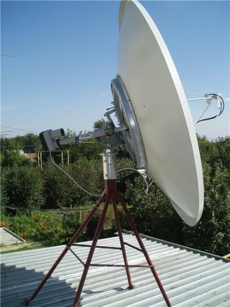Моторизованная антенна MABO 1.5m с полярным подвесом и актуатором...