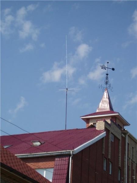 Мачтовое устройство с СВ-антенной 27МГц