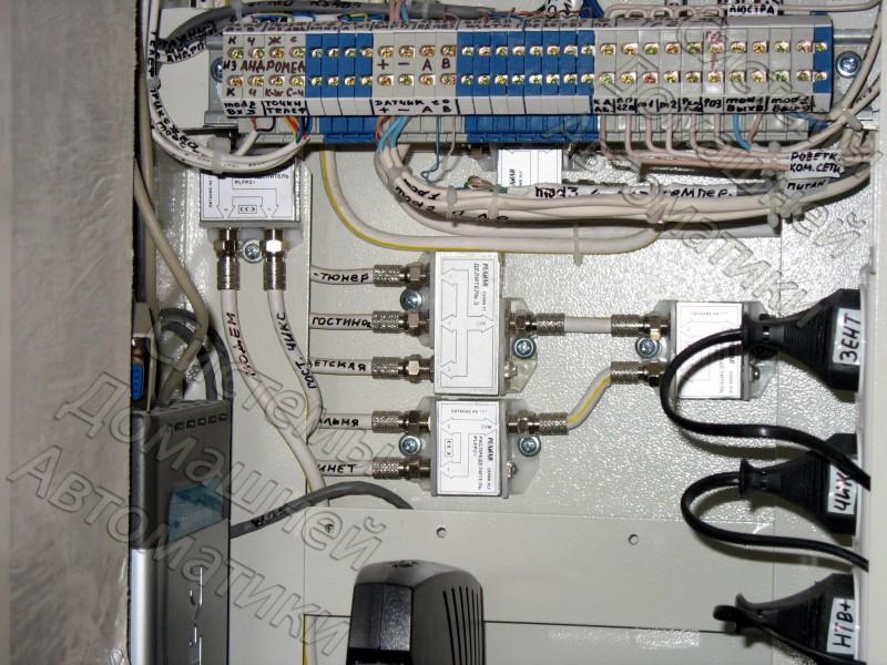 Эл. щит Умного дома 2009г - 7