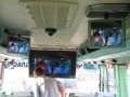 Работа внутренней видеокамеры на телемониторы салона